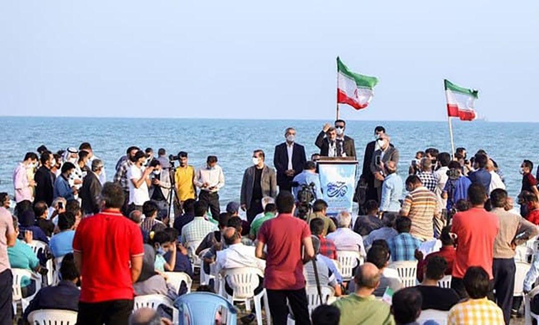 میتینگ+سیاسی+احمدی+نژاد+در+ساحل+بوشهر (1)