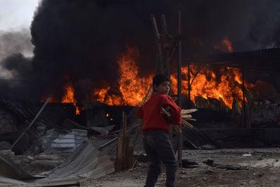 عکاس،مونب تایم از سوریه.