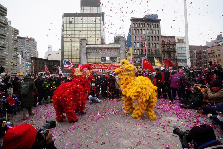 سال نوی چینی نیویورک