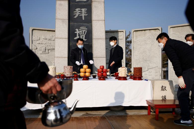 سال نوی چینی مرز میان دو کره