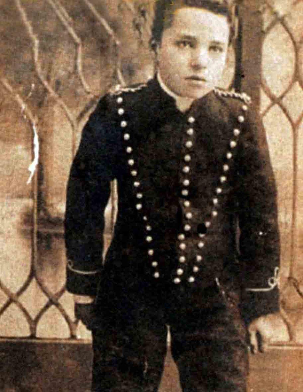 تصویری کمیاب از چارلی چاپلین در سن 16 سالگی
