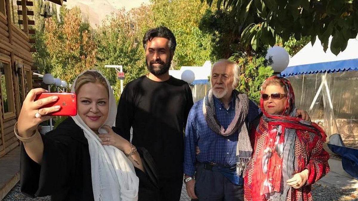 دعوای بهاره رهنما و همسرش در لایو ! + عکس