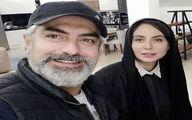 عشق و عاشقی مهدی پاکدل و همسر جدیدش سوژه شد!