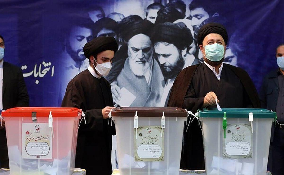 سید احمد خمینی: رای دادم تا بازی بهم بخورد