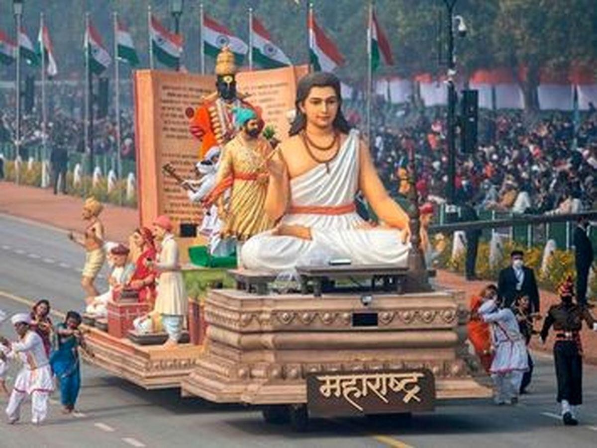 رژه عجیب و غریب روز ملی هند در شهر دهلی+عکسها
