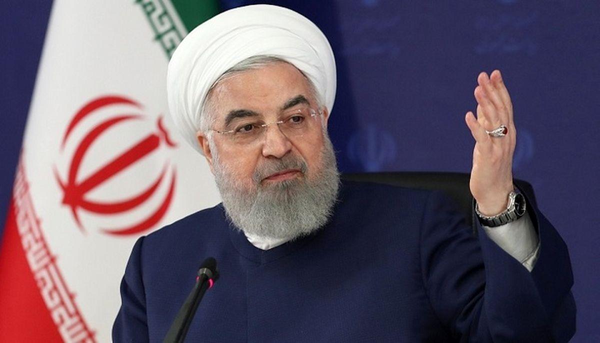 روحانی: طرحهای عمزانی امروز ما مرهون سیاست خارجی ماست/ باید تحریم شکسته شود تا با فروش نفت وضع صندوق توسعه ملی بهتر شود