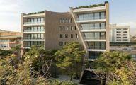 معماری جالب در جهت حفاظت از فضای سبز / عکس