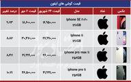 مسابقه قیمتی آیفون وسامسونگ در بازار تهران+ جدول