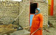 تنها زن رفتگر ایران هستم/ اوقات فراغت در غسالخانه کار میکنم!/دوست داشتم در خانه مان یک حمام داشته باشیم / خرج سه خانواده را می دهم +عکس