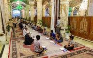 تصاویر/ افطاری در حرم مطهر علوی