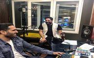 اینستاگرام: محمد علیزاده در استودیو!