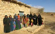 فقر و محرومیت در این روستاها فریاد میزنند /تصاویر