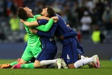 تصاویر قهرمانی چلسی در لیگ قهرمانان اروپا