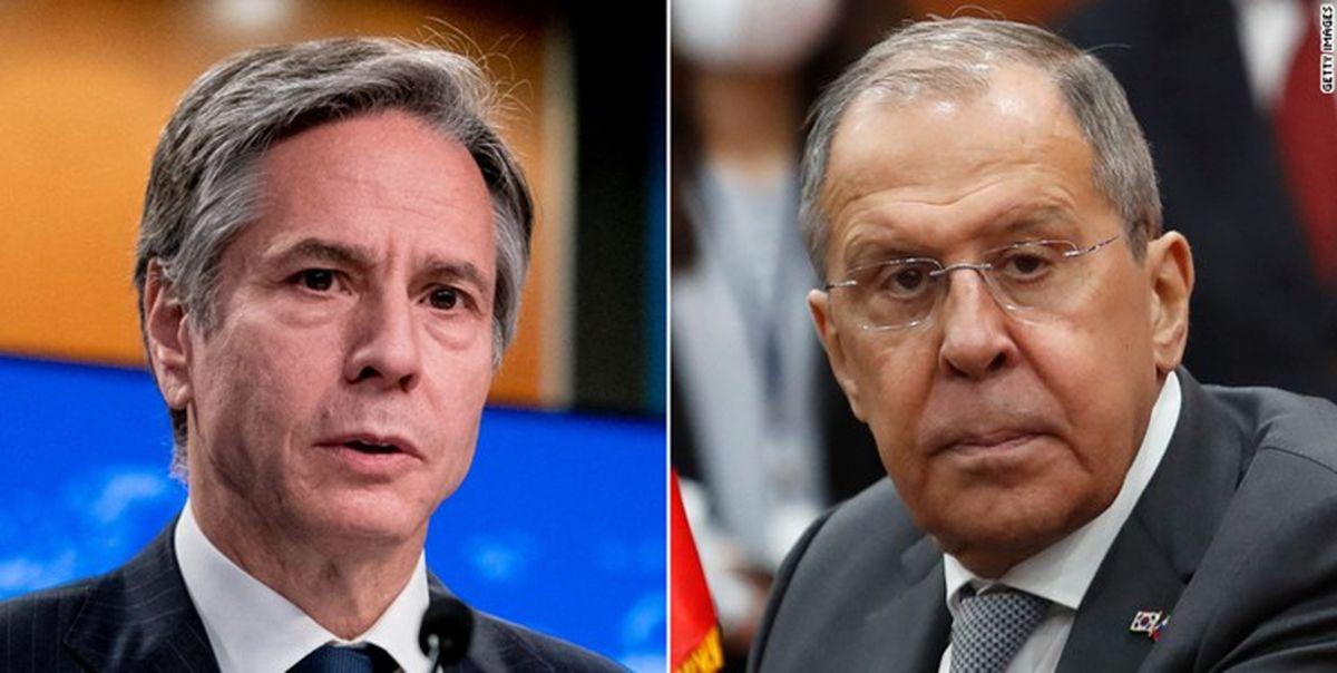 گفتگوی وزرای خارجه روسیه و آمریکا در مورد ایران