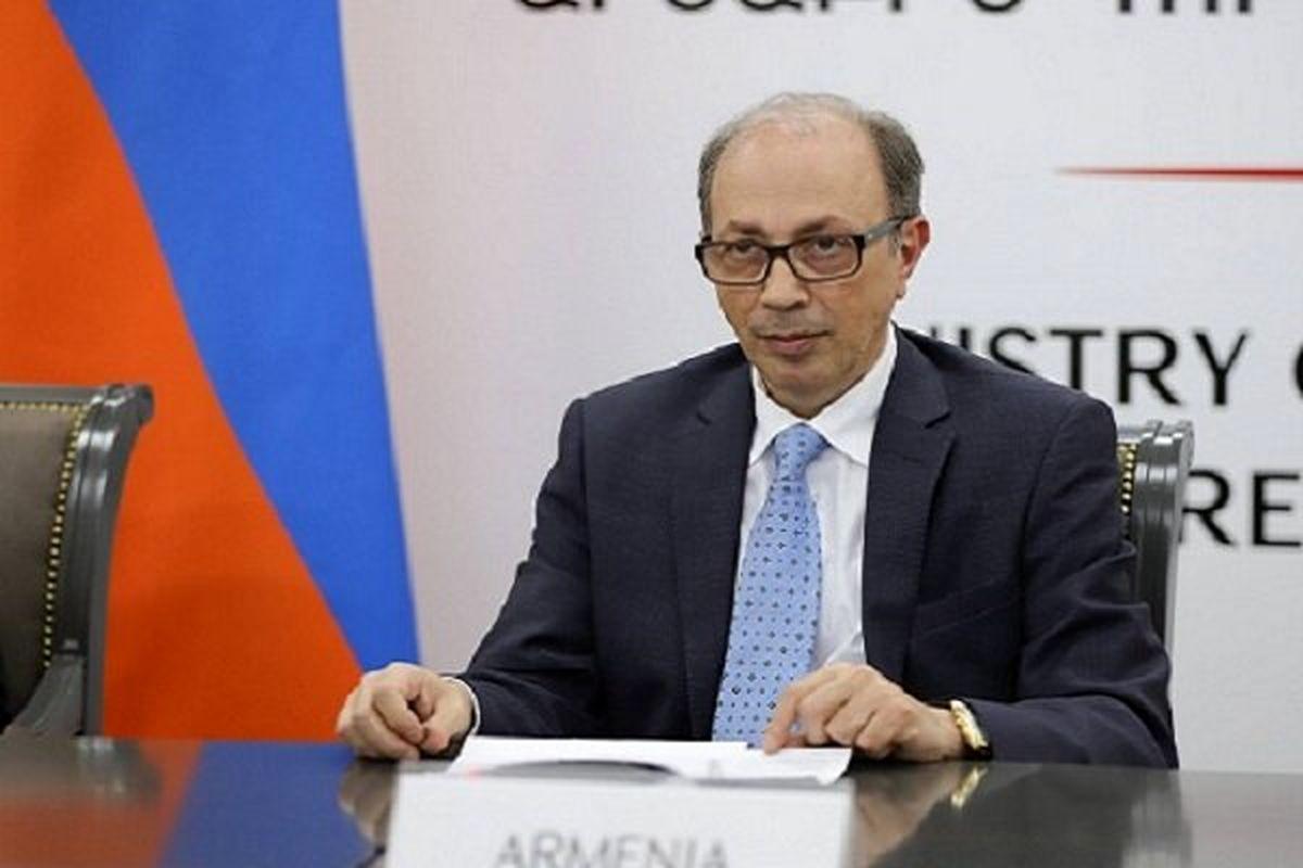 وزیر خارجه موقت ارمنستان استعفا داد