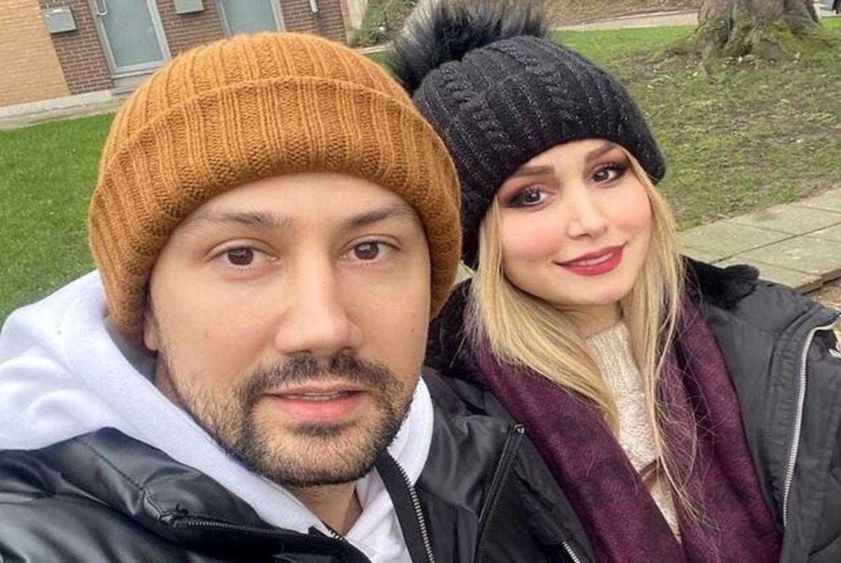 تصویری دیده نشده از شاهرخ استخری و همسرش در نروژ