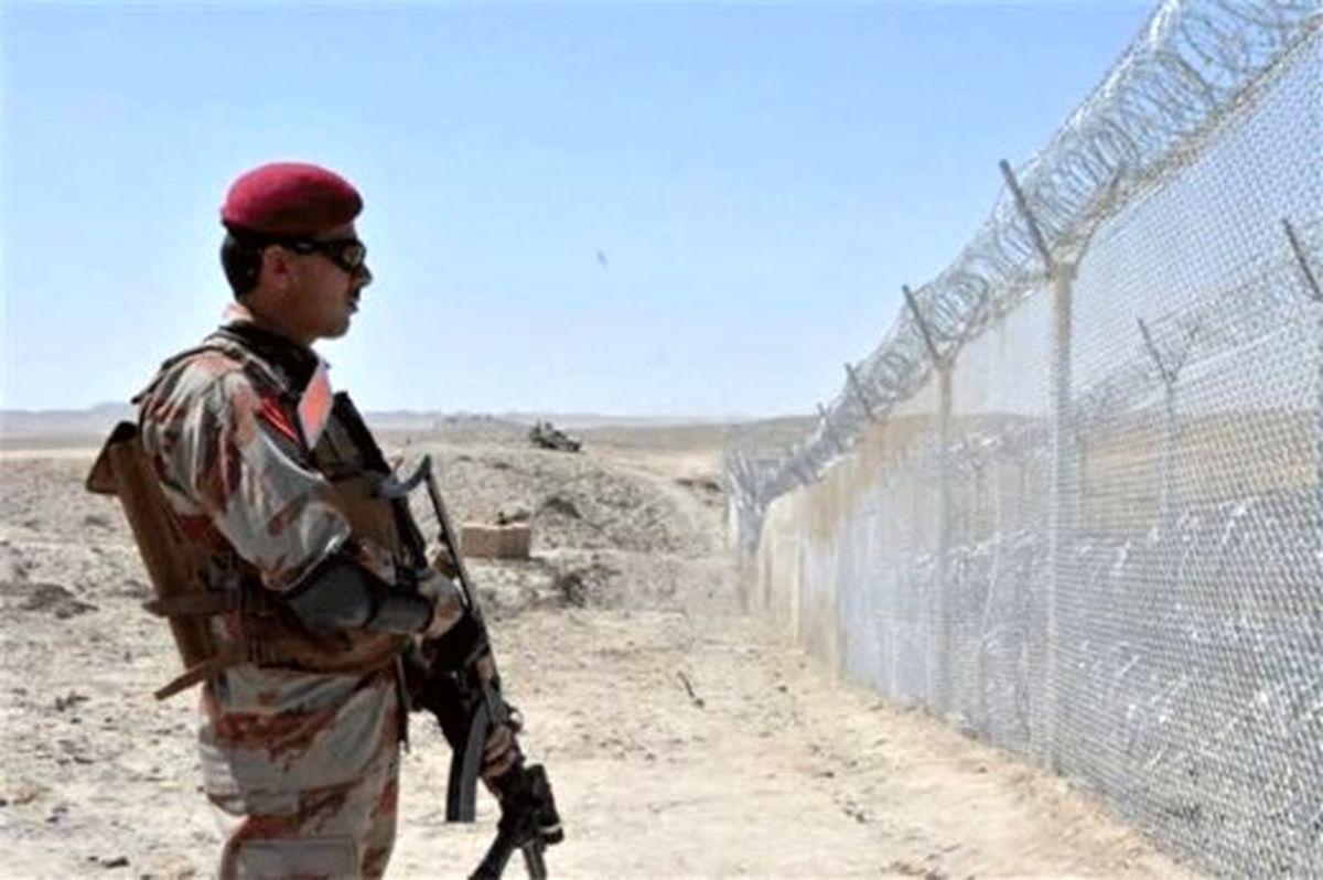 مرز پاکستان و ایران غرق شد