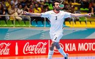 شوت باورنکردنی بازیکن تیم ملی فوتسال در سایت فیفا