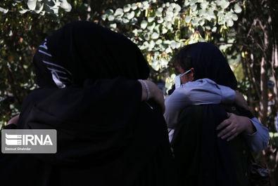 گزارش تصویری تشییع و تدفین خبرنگاران فقید