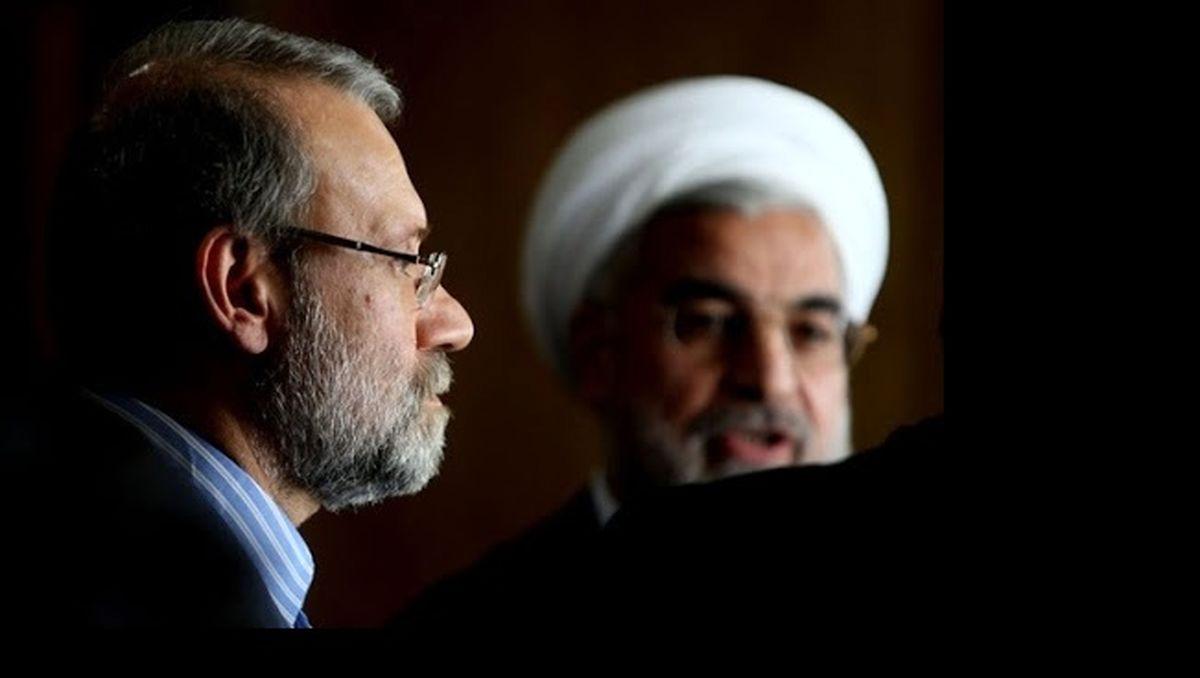 ادعای عجیب درباره ممنوع التصویری علی لاریجانی و روحانی !