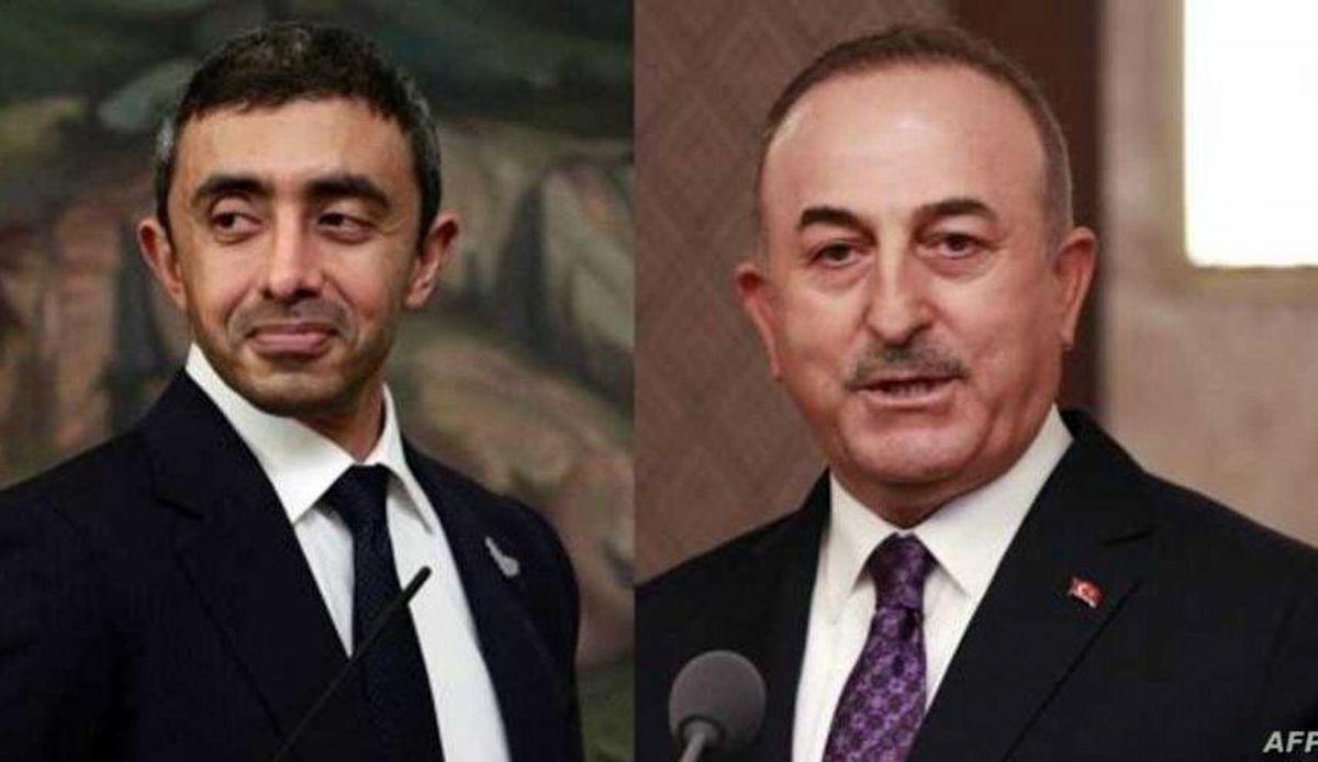 گفتوگوی تلفنی وزرای خارجه ترکیه و امارات بعد از ۴ سال