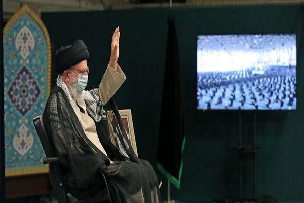 مراسم اربعین حسینی با حضور رهبر انقلاب