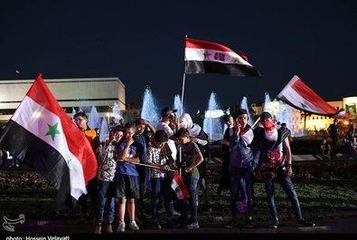 جشن مردم سوریه