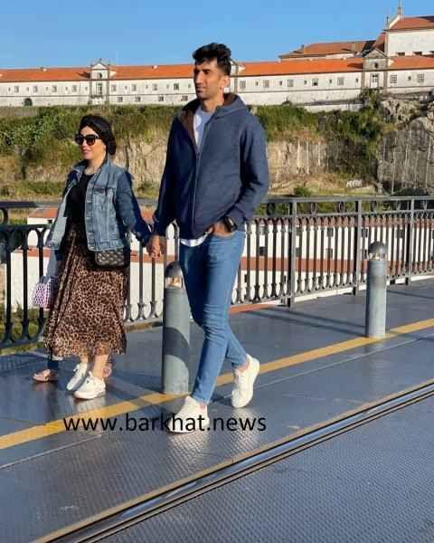 حجاب همسر علیرضا بیرانوند در خارج از کشور + عکس