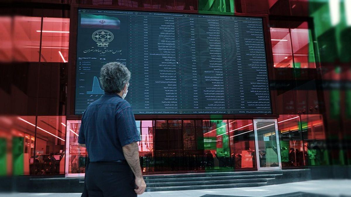 ریزش ۵ هزار واحدی شاخص بورس + نقشه بازار بورس