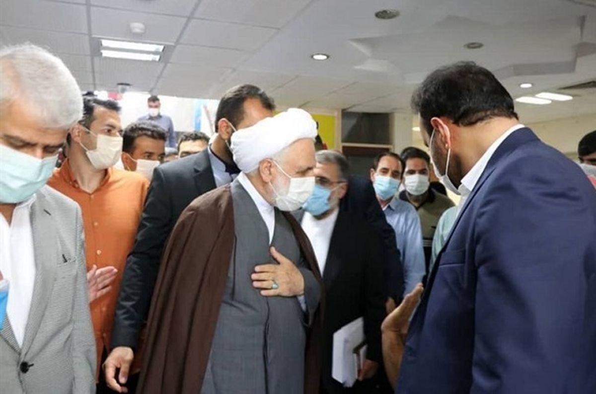 بازگشایی بیمارستان پرحاشیه امام کرج با حضور رئیس قوه قضاییه