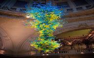 لوستر عجیب و متفاوت متفاوت موزه لندن/تصویر