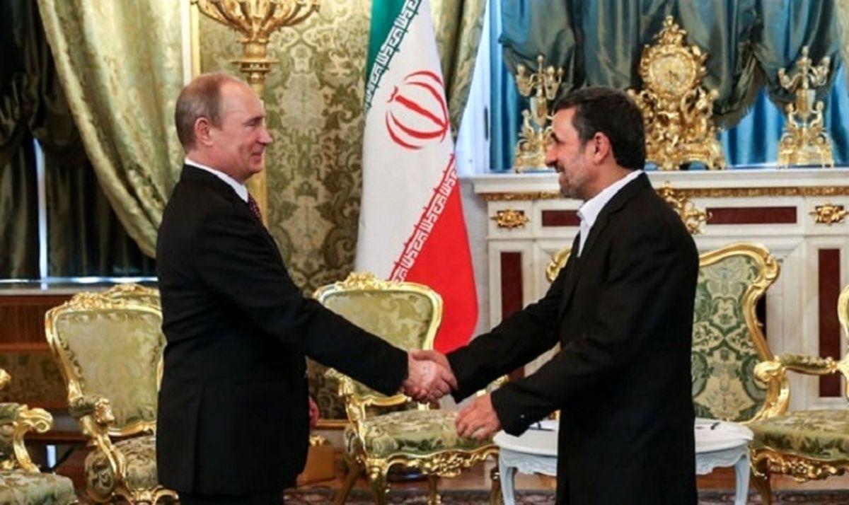 جنجال جدید رئیس جمهور اسبق / احمدی نژاد به پوتین هم نامه نوشت و او را نصیحت کرد!
