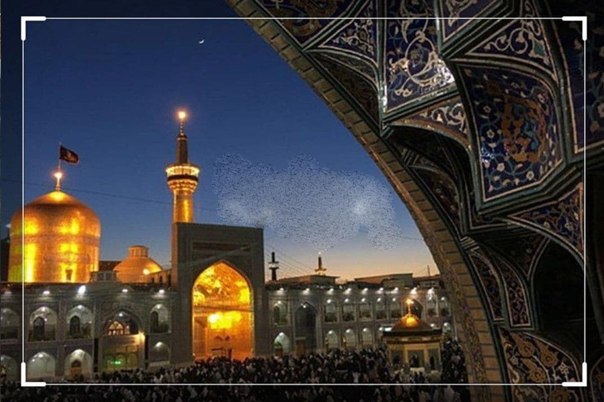 عکس بنای اولیه مدفن امام رضا (ع) که کهنترین بنای دوران اسلامی خراسان است