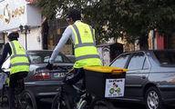کاهش آلودگی هوای زنجان با راهاندازی پیک دوچرخه