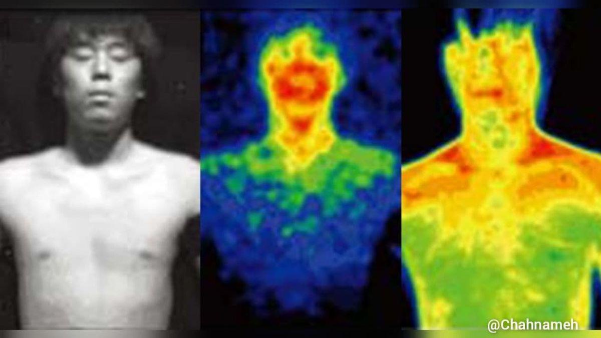 کشف جدید و عجیب دانشمندان از درخشش نور مرئی از بدن انسان+عکس