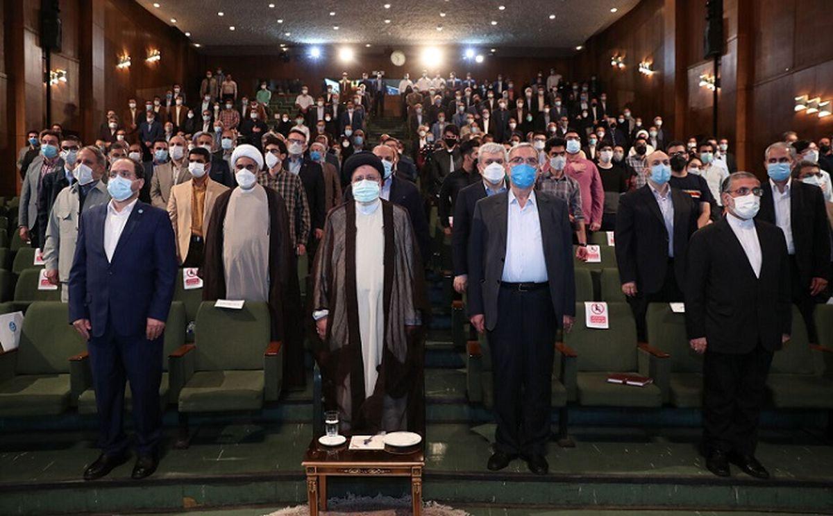 رئیسی در دانشگاه تهران: قدرت فقط در ساخت موشک نیست