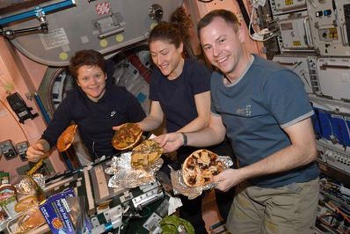 تصاویری جالب از غذاهای فضایی