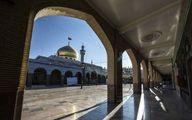 نمایی زیبا از حرم حضرت زینب(س) / عکس