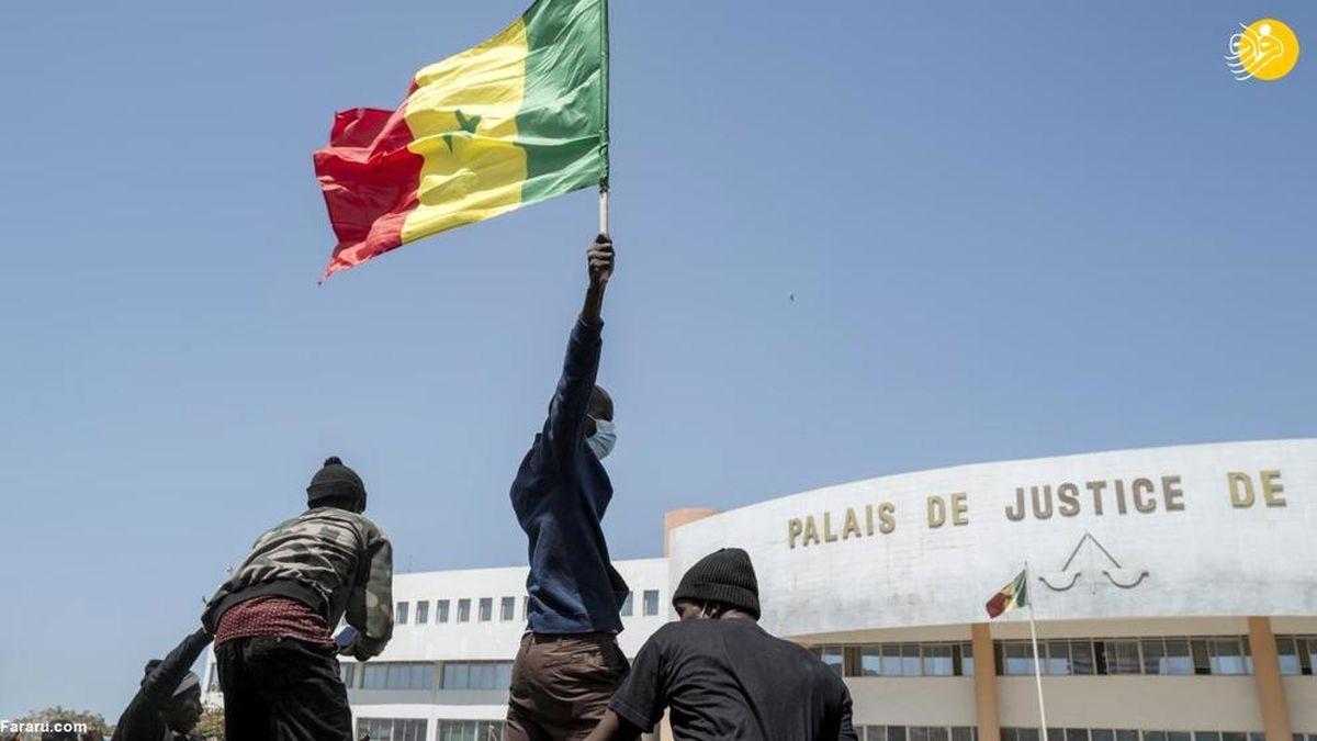 تصاویر منتشر شده از سنگال؛ صحنه درگیری مخالفان با دولت