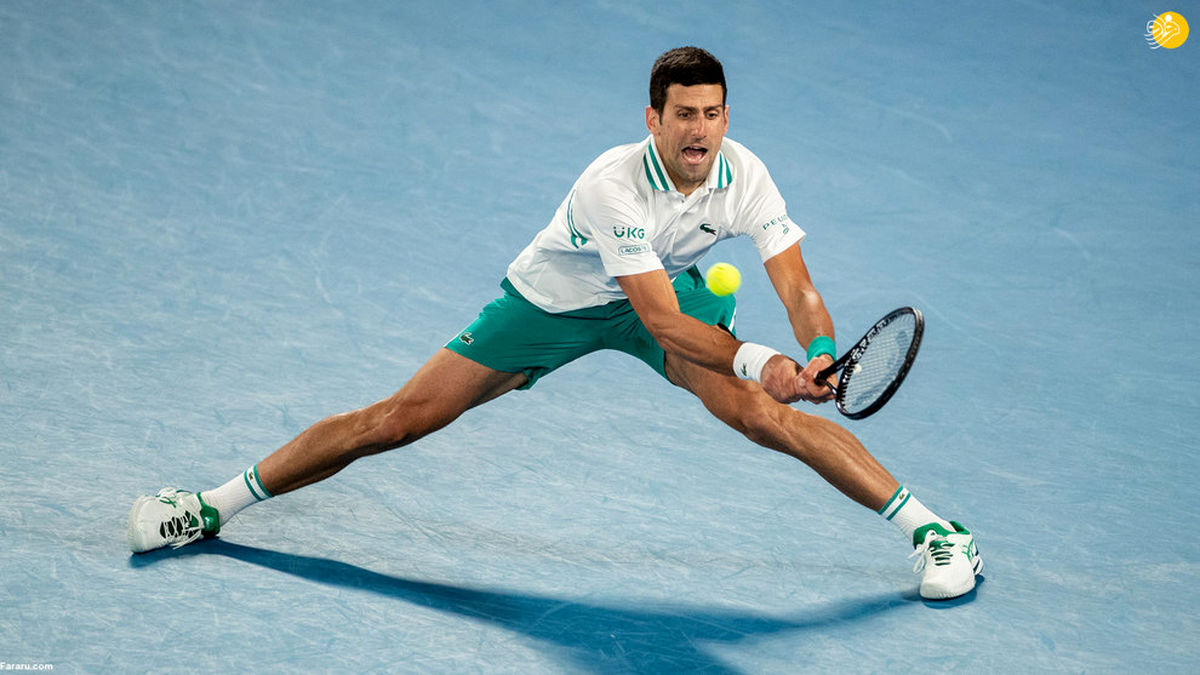 تصاویر دیدنی از رقابتهای تنیس آزاد استرالیا