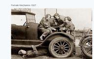 وقتی زنان مکانیک بودند _1927 /عکس