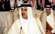 امیر قطر پس از بازگشت از تهران: با روحانی درباره کاهش تنش رایزنی کردم
