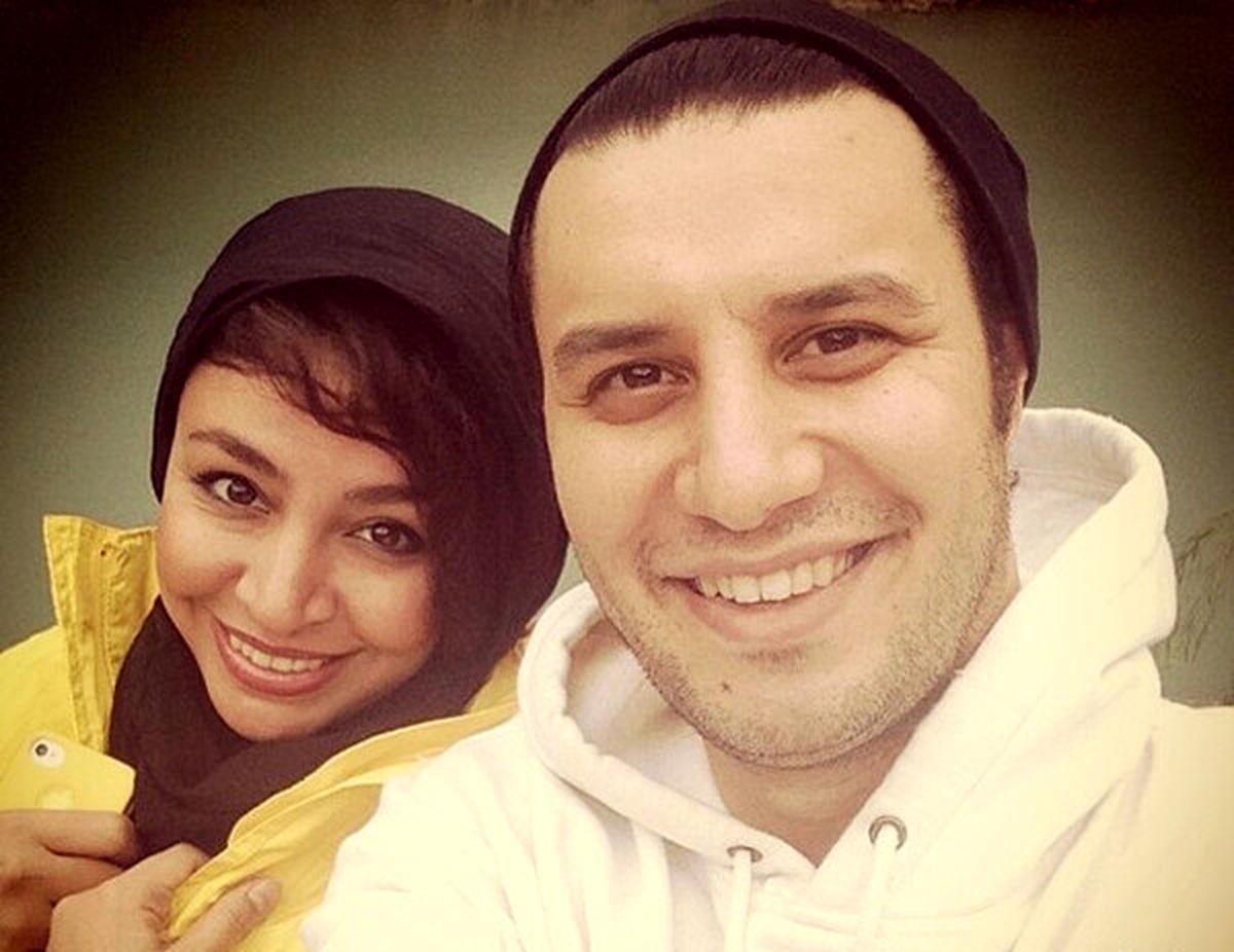 تیپ جنجالی همسر جواد عزتی + داستان آشنایی این زوج!