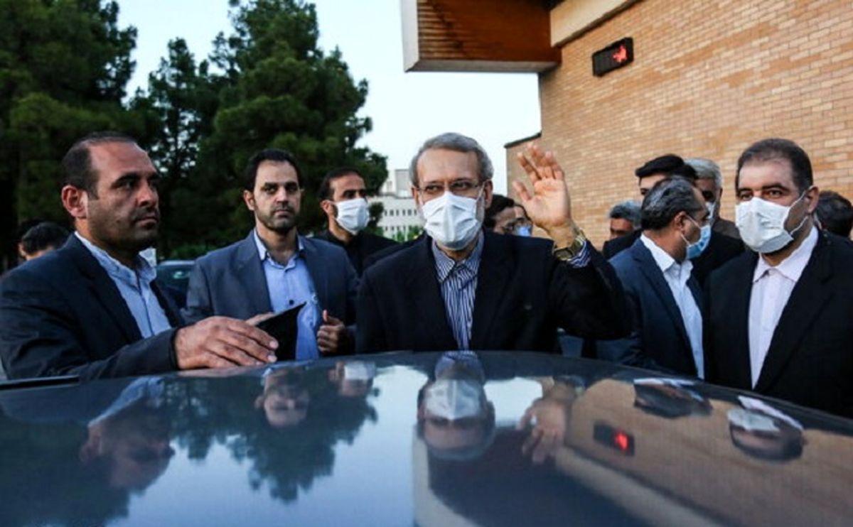 علی لاریجانی هم آمد