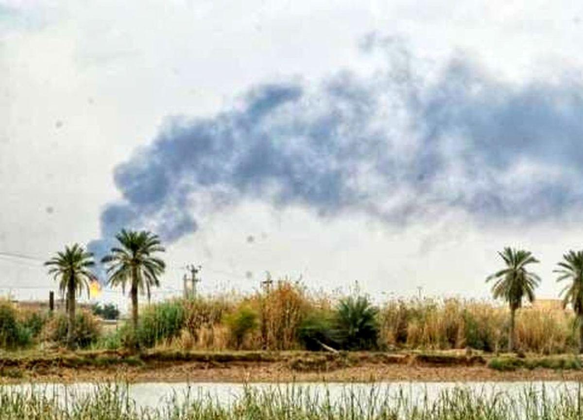 دلیل دود سیاه در آسمان آبادان مشخص شد