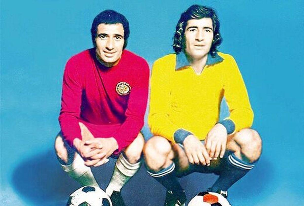 عکس ناب از ناصرخان حجازی در کنار والدیر ویرا