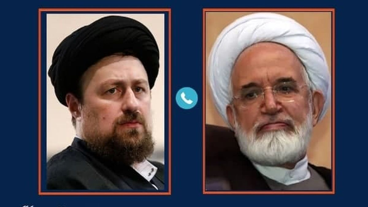 تماس تلفنی سید حسن خمینی با مهدی کروبی + جزئیات
