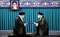 فیلم  لحظه اعطای حکم ریاست جمهوری اسلامی ایران