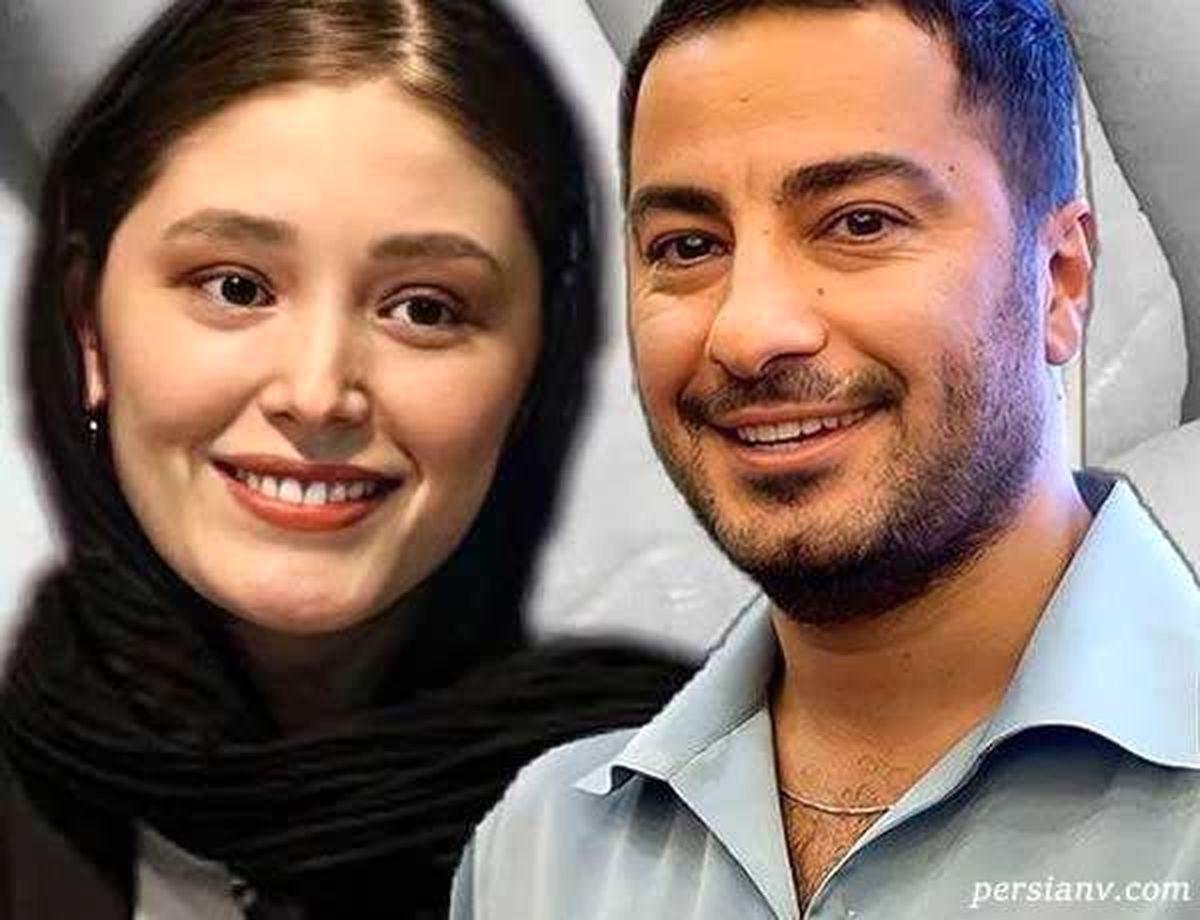 لباس نافرم نوید محمدزاده + عکس