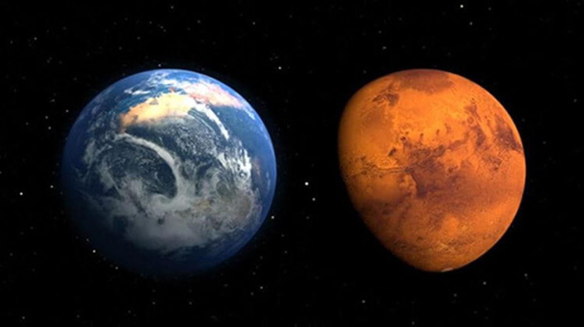 ۱۰ حقیقت عجیب درباره دنیای اسرارآمیز مریخ+عکس ها